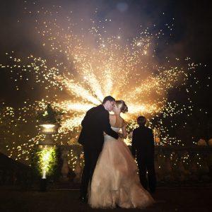 Wedding firework displays - Edinburgh