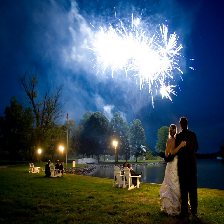 Low Noise Traditional Wedding Fireworks