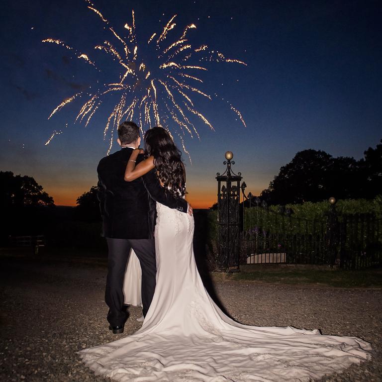 Traditional Wedding Fireworks